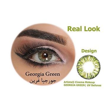 Artista Contact Lenses Georgia Green