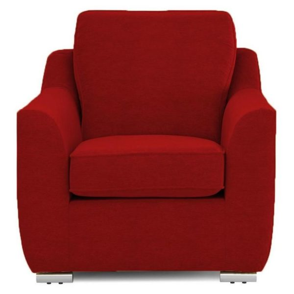 Galaxy Design Bren Single Sofa Blood Red