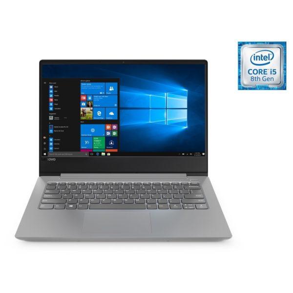 Lenovo Ideapad 330s Laptop - Core i5 1.6GHz 8GB 1TB+128GB 2GB Win10 14inch HD Platinum Grey