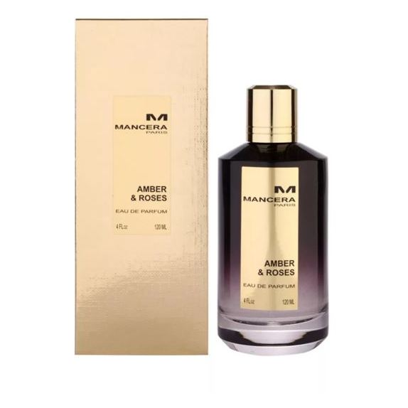 Mancera Amber Roses Perfume For Unisex 120ml Eau de Parfum