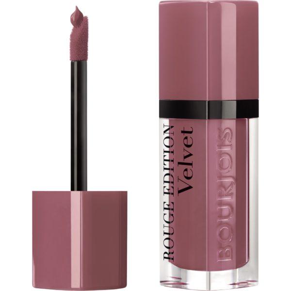 Bourjois, Rouge Edition Velvet. Liquid lipstick. 07 Nude-ist.