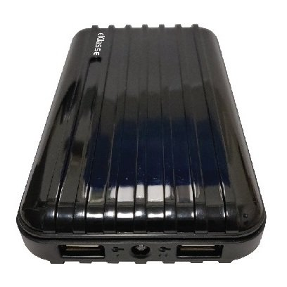 Eklasse EKPB20004XM 20000mah Luggage Power Bank Black