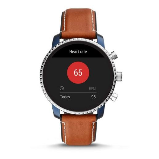 Fossil Gen4 Smartwatch Brown Leather