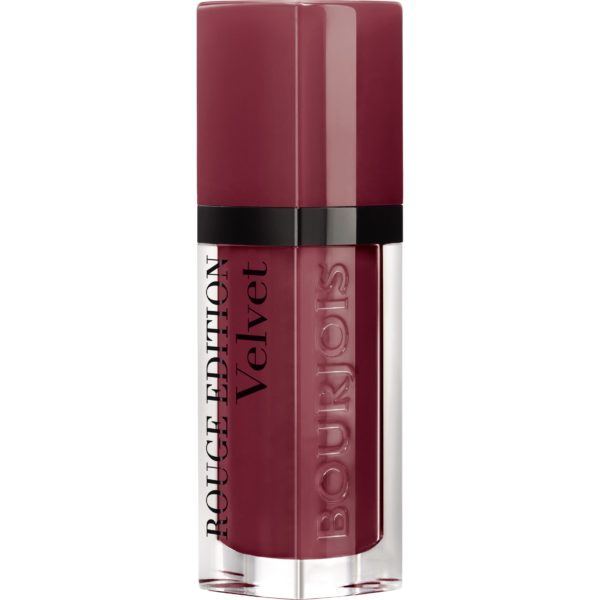 Bourjois, Rouge Edition Velvet. Liquid lipstick. 24 Dark Cherie