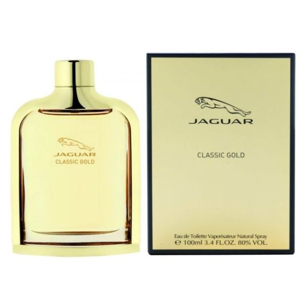 Jaguar Classic Gold Perfume For Men 100ml Eau de Toilette
