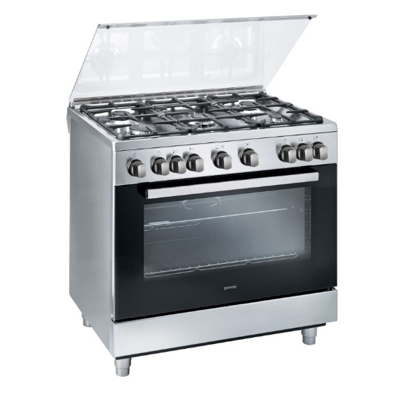 Gorenje 5 Gas Burners Cooker GI9221XF