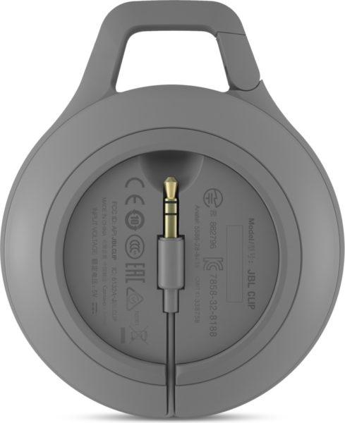 JBL CLIP+ Portable Bluetooth Speaker Grey