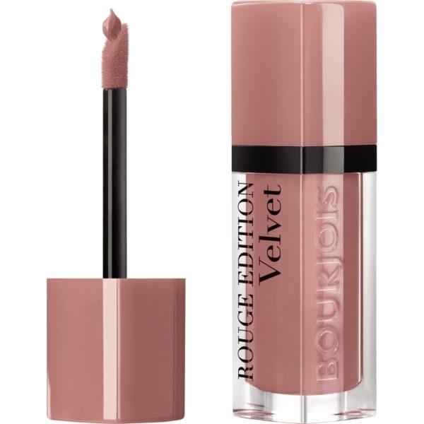 Bourjois, Rouge Edition Velvet. Liquid lipstick. 28 Chocopink