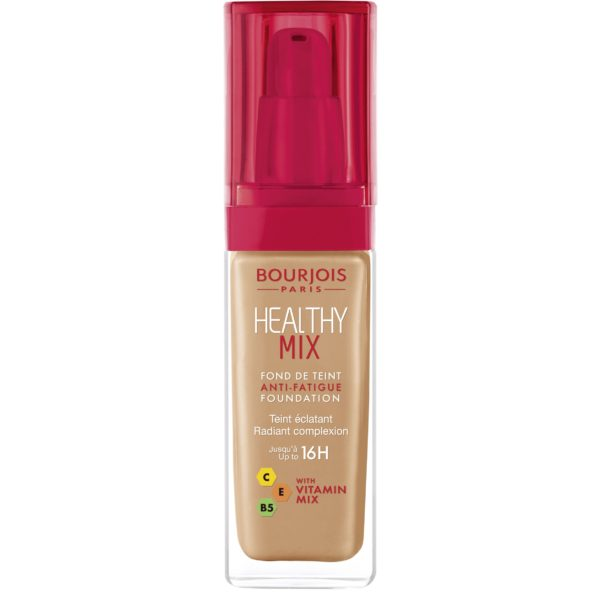 Bourjois, Healthy Mix Anti-Fatigue. Foundation. 56 Light tan