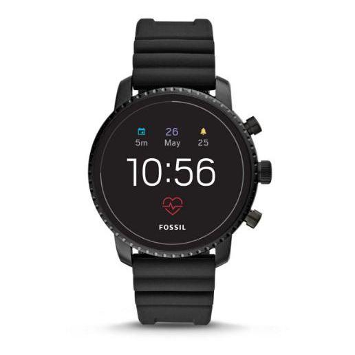 Fossil Gen4 Smartwatch Black Silicone