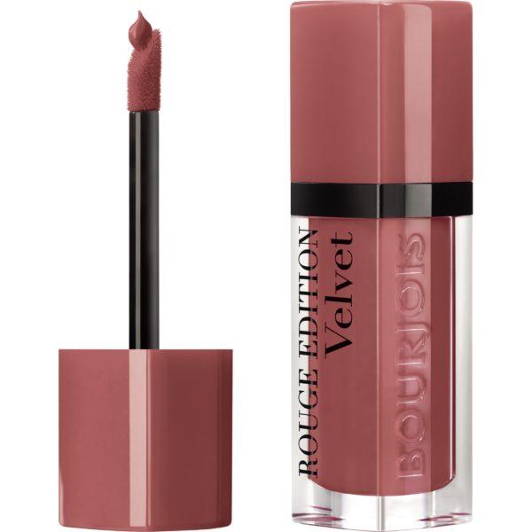 Bourjois, Rouge Edition Velvet. Liquid lipstick. 12 Beau brun