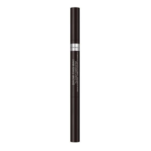 Rimmel London 65004 Brow This Way Fill & Sculpt Eyebrow Definer Soft Black