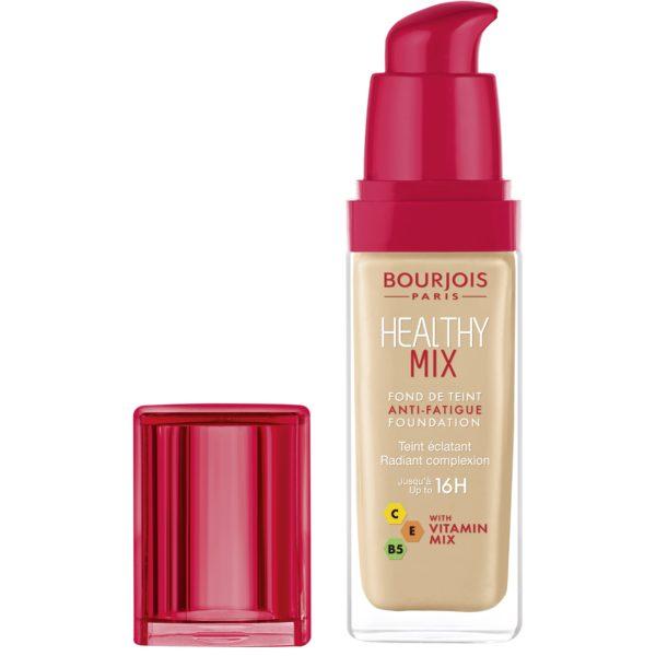 Bourjois, Healthy Mix Anti-Fatigue. Foundation. 53 Light Beige