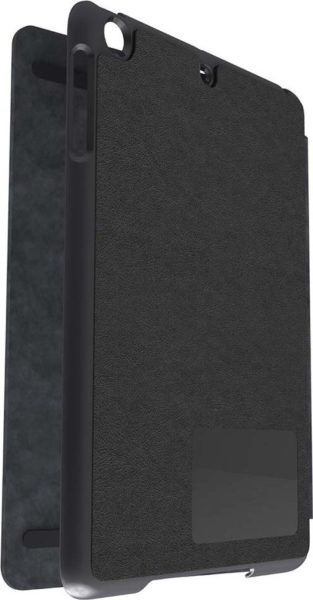 Kensington K97022WW Comercio Hard Folio Case W/ Stand Grey For IPad Air