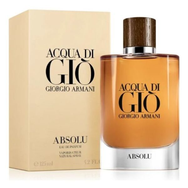 Armani Acqua Di Gio Absolu Perfume For Men 125ml Eau de Parfum