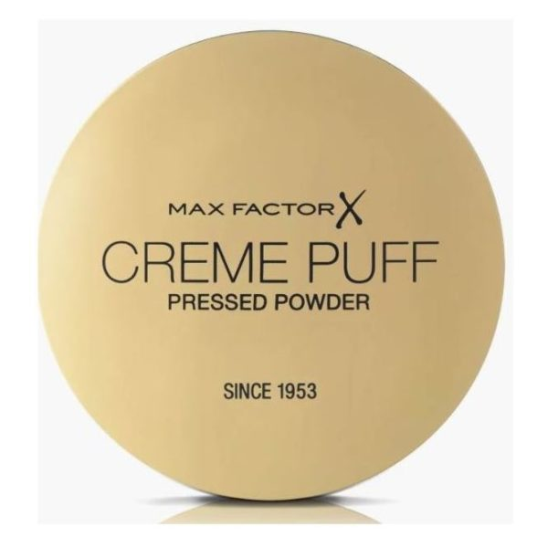 Max Factor Creme Puff Pressed Compact Powder 081 Truly Fair 21g