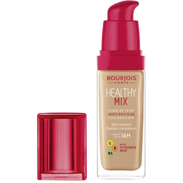 Bourjois, Healthy Mix Anti-Fatigue. Foundation. 55 Dark beige