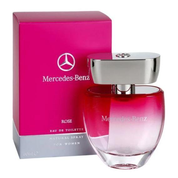Mercedes Benz Rose Perfume For Women 60ml Eau de Toilette