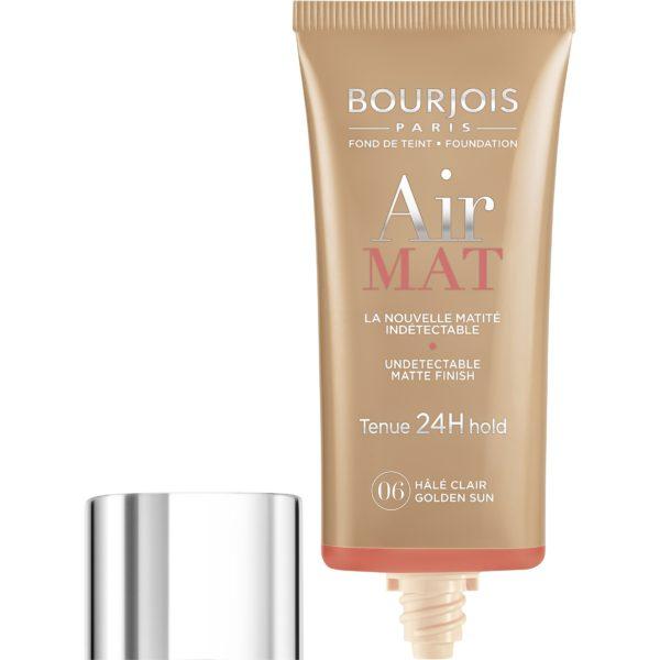Bourjois, Air Mat 24H. Foundation. 06 Light tan