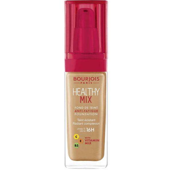 Bourjois, Healthy Mix Anti-Fatigue. Foundation. 57 Dark tan
