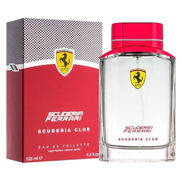 d5c51a9ea Buy Ferrari Scuderia Club Perfume For Men 125ml Eau De Toilette ...