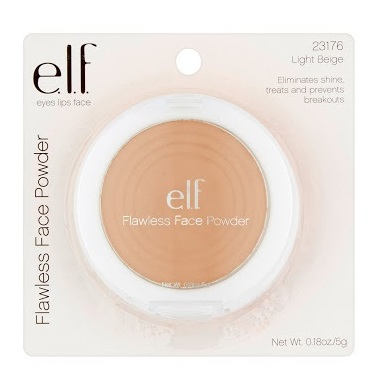 Elf Flawless Face Powder - Light Beige