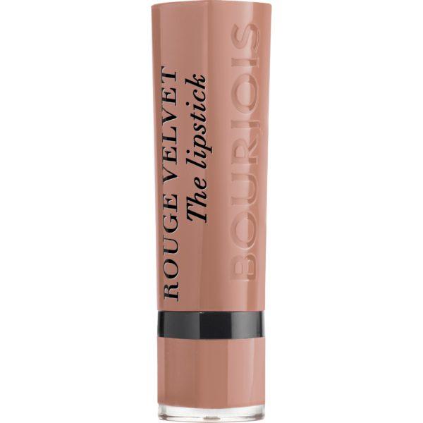 Bourjois, Rouge Velvet The Lipstick. 01. Hey Nude!