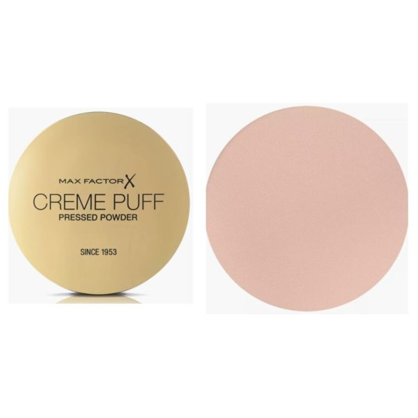 Max Factor Creme Puff Pressed Compact Powder 085 Light n Gay 21g