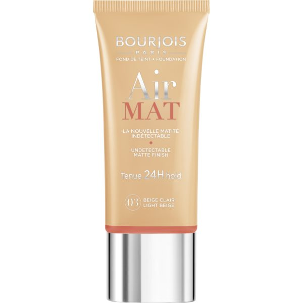 Bourjois, Air Mat 24H. Foundation. 03 Light Beige