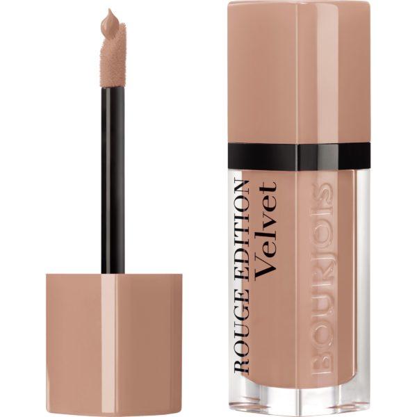 Bourjois, Rouge Edition Velvet. Liquid lipstick. 31 Floribeige!