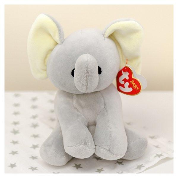 TY Baby Bubbles Elephant Grey 32131