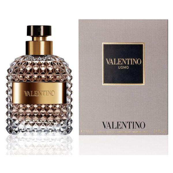 Valentino Uomo Perfume For Men 100ml Eau de Toilette