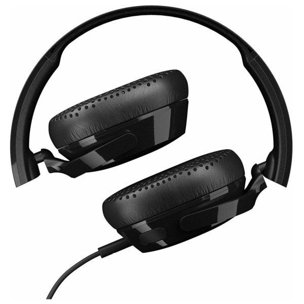 Skullcandy S5PXYL003 Riff On-Ear Headphone Black