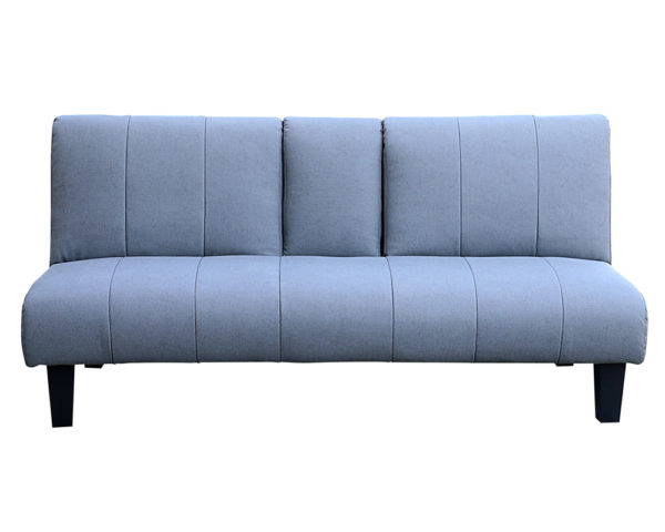 Laze 3 Seater Sofa Bed Grey With Cup Holder