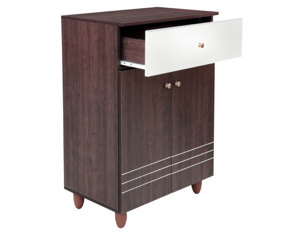 Natty 2 Door Shoe Cabinet & Drawer
