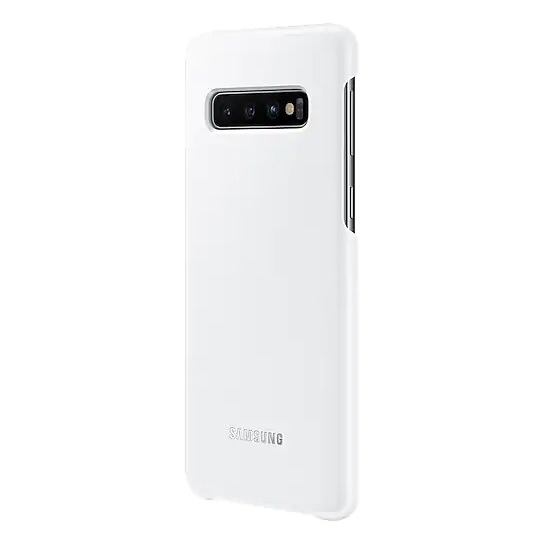 Samsung LED Back Case White For Galaxy S10 Plus