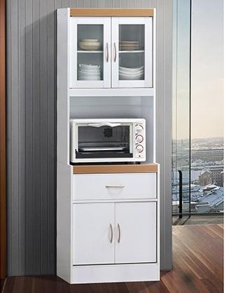 AtoZ Furniture KS-112-12 Kitchen China Cabinet Kitchen Storage