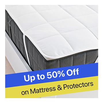 Upto50%OFF-MATRESSES&PROTECTORS