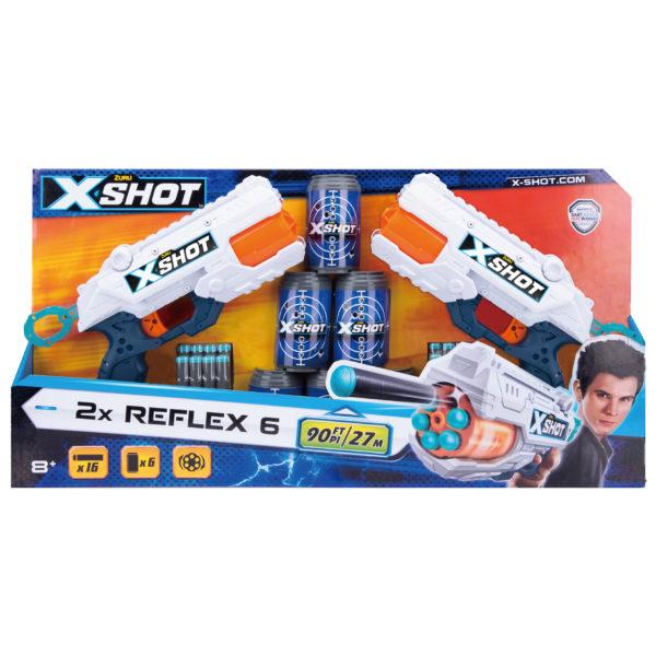Zuru X-Shot 36225 Excel Reflex 6 Combo