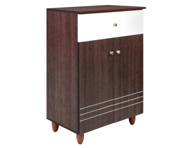 Natty 2 Door Shoe Cabinet & Drawer