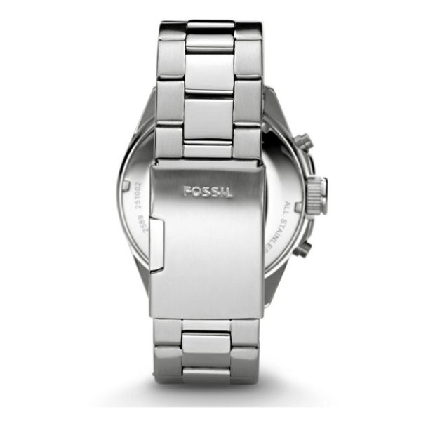 Fossil CH2600 Decker Chronograph Stainless Steel Watch
