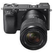 Sony Alpha a6400 Mirrorless Digital Camera ILCE-6400 Black With E 18-135mm f/3.5-5.6 OSS Lens