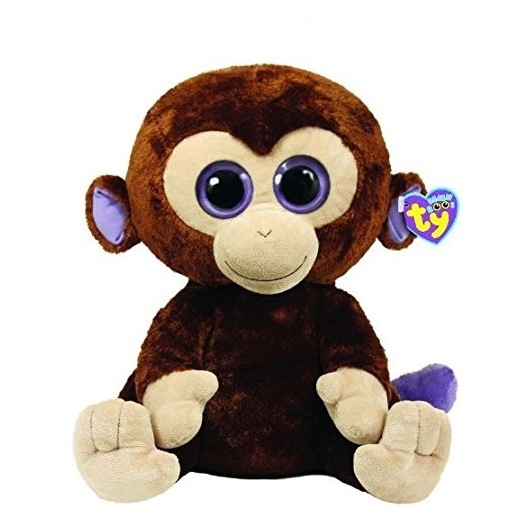 TY Beanie Boos Monkey Brown 36800