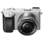 Sony Alpha a6400 Mirrorless Digital Camera ILCE-6400 Silver With E 16-50mm f/3.5-5.6 OSS Lens