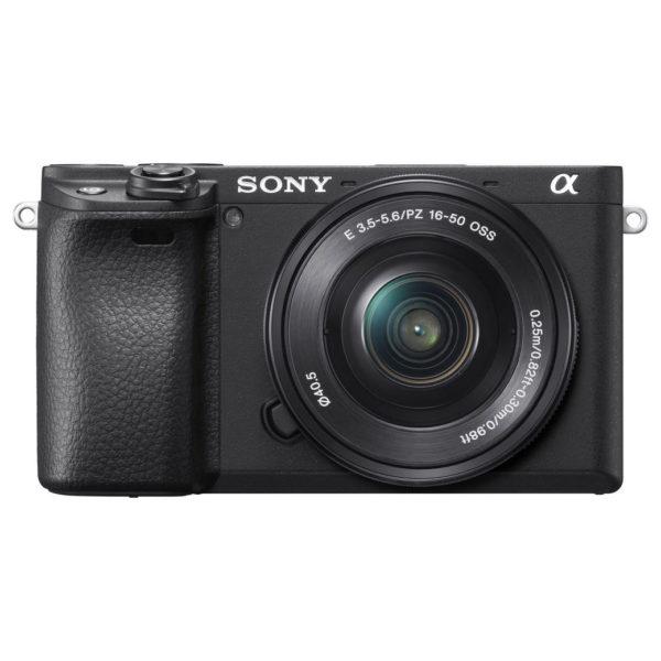 Sony Alpha a6400 Mirrorless Digital Camera Black With E 16-50mm f/3.5-5.6 OSS Lens