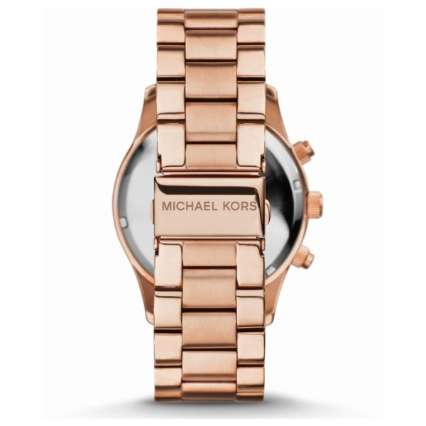 bd1a5b4bb5cd Buy Michael Kors Layton Pave Dial Rose Gold-tone Ladies Watch ...