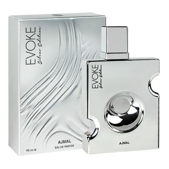 Ajmal Evoke Silver Edition Perfume For Men 90ml Eau de Parfum