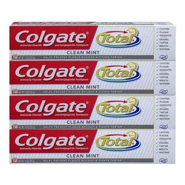 Colgate Total Clean Mint Toothpaste 75 ml Pack Of 4