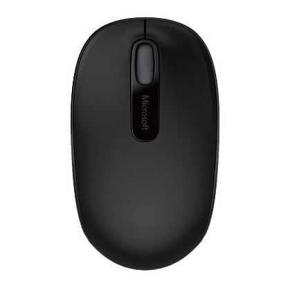 Microsoft Wireless Mobile Mouse Black 1850 U7Z-00004 + Portland Backpack