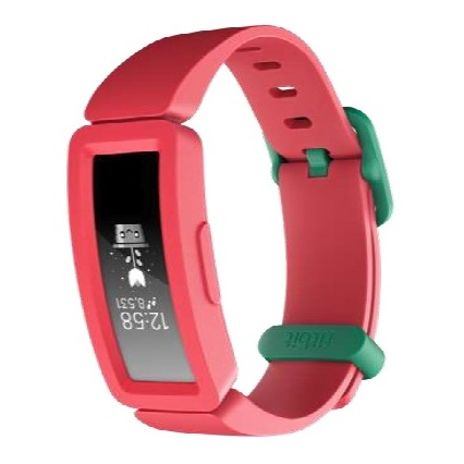 Fitbit Ace 2 Activity Tracker For Kids - Watermelon/Teal